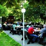 Biergarten Gaststätte Schützenhaus Neuhausen auf den Fildern